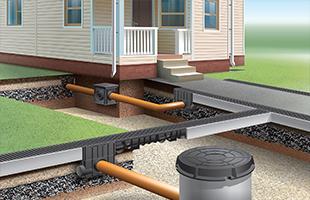 Монтаж и установка дорожной ливневой канализации
