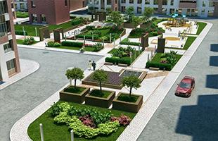Обустройство площадок и парковок